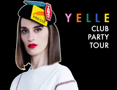 Yelle's 2017 Canadian tour