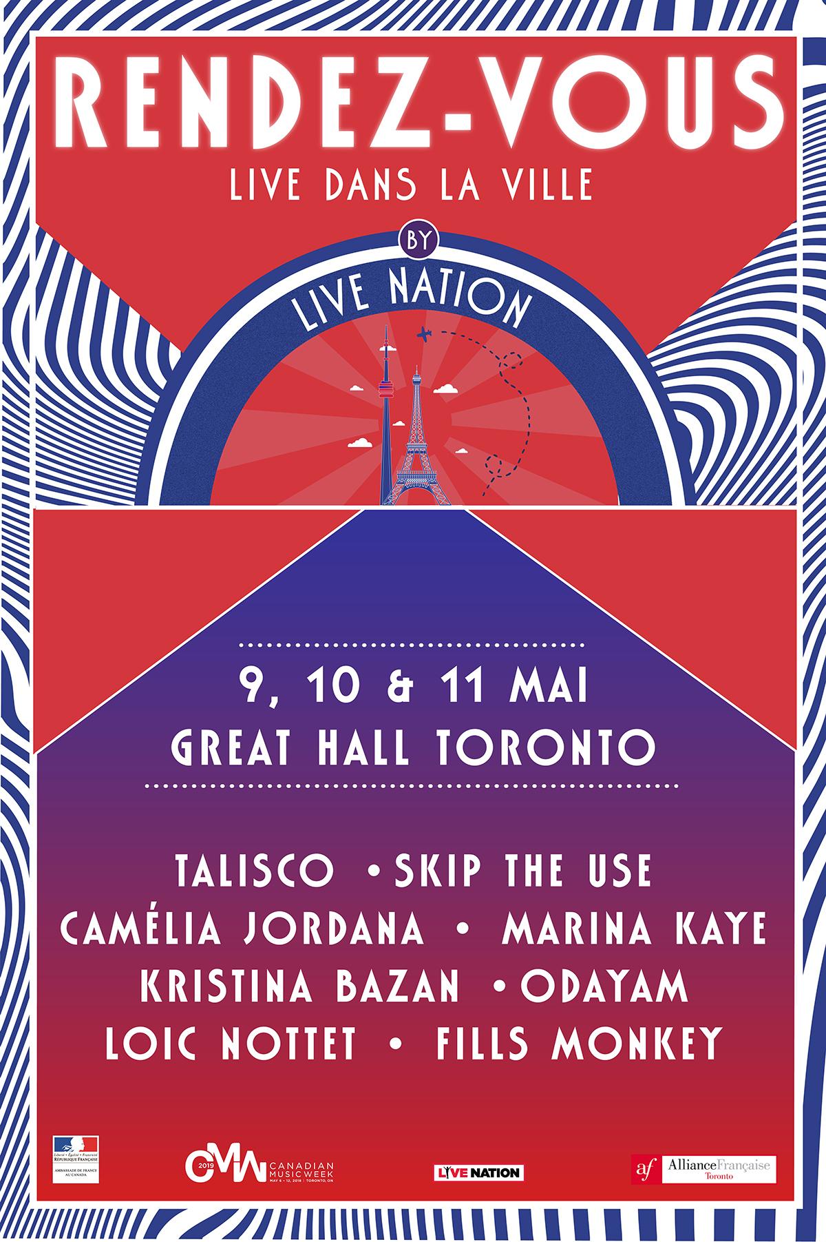 TORONTO – RENDEZ-VOUS : LIVE DANS LA VILLE BY LIVE NATION @THE GREAT