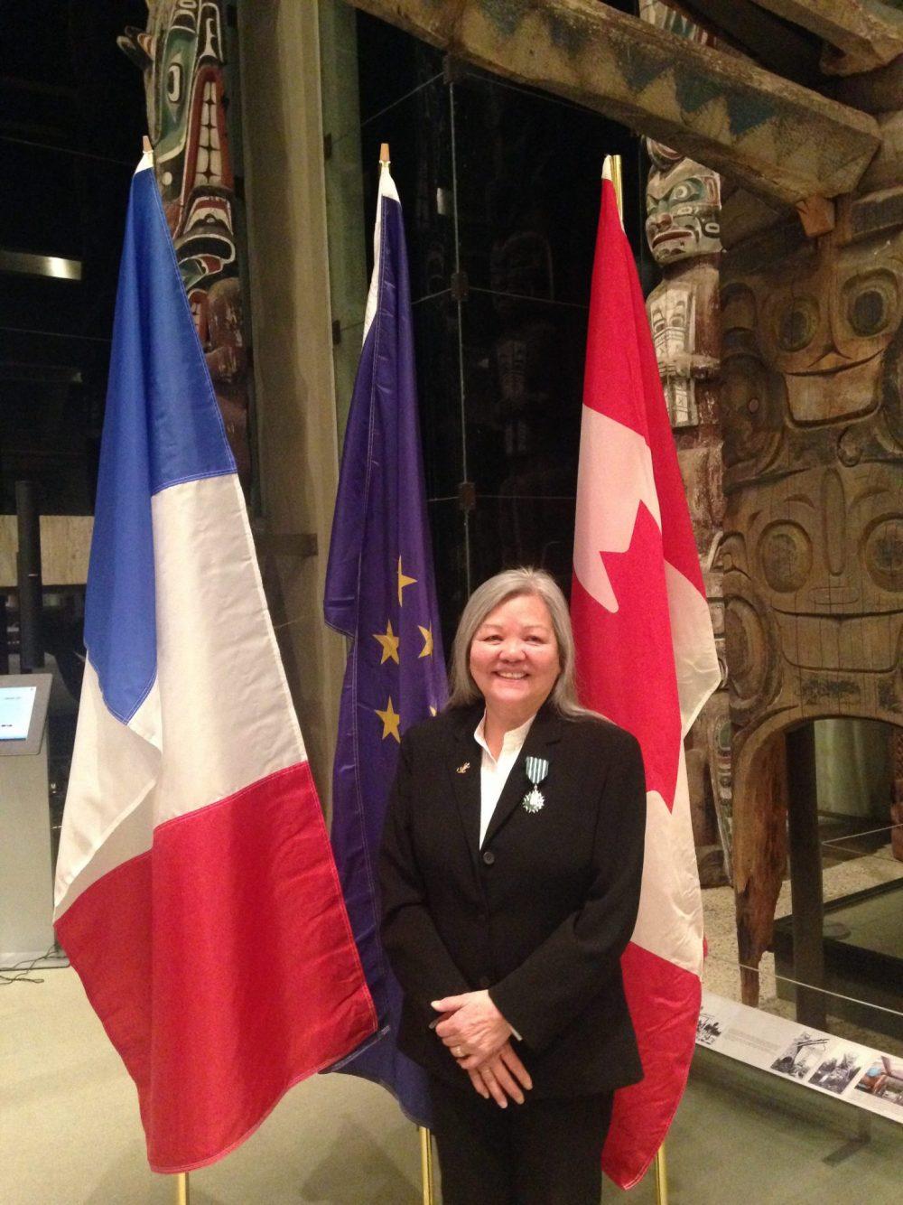 VANCOUVER – Susan Point appointed Chevalier des Arts et des Lettres