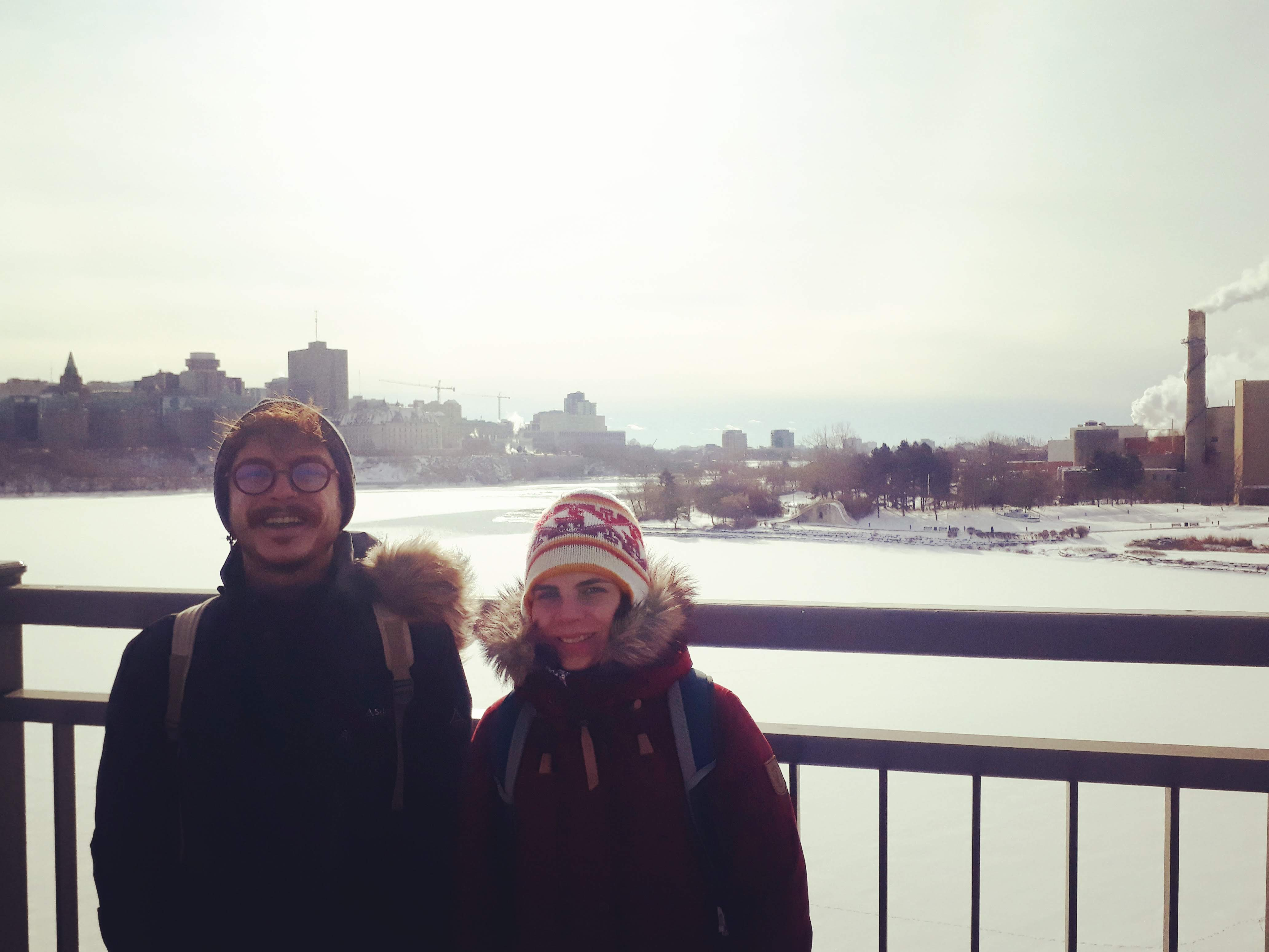 Two French students shared about their experience of doing a double degree in Ottawa