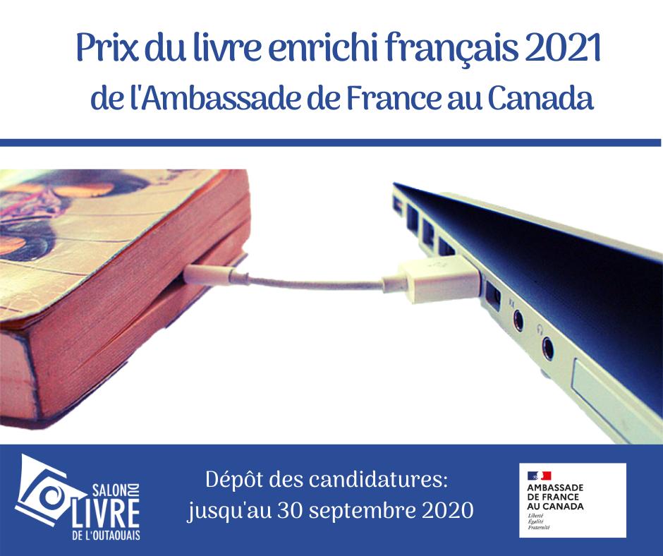 Prix du livre enrichi français 2021