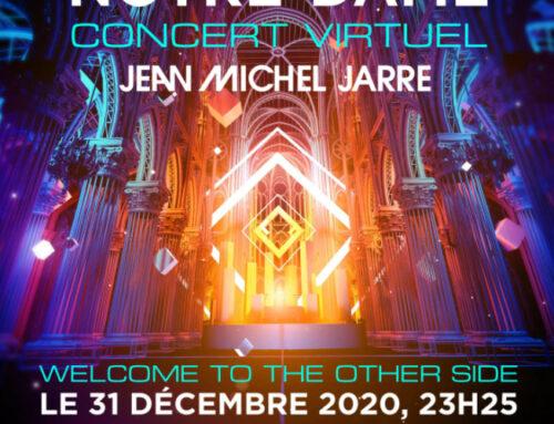 EN LIGNE – CONCERT VIRTUEL DE JEAN-MICHEL JARRE