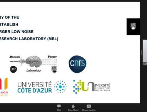 New agreement between CNRS and UBC : The Maxwell-Berger Low Noise Underground Research Laboratory (MBL)