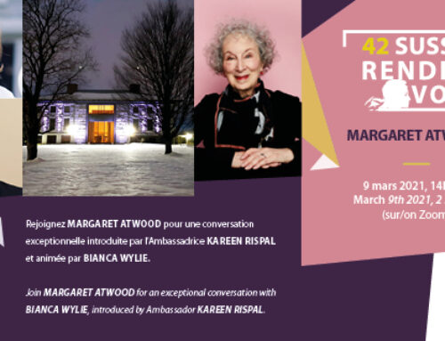 Interactive conversation with Margaret Atwood